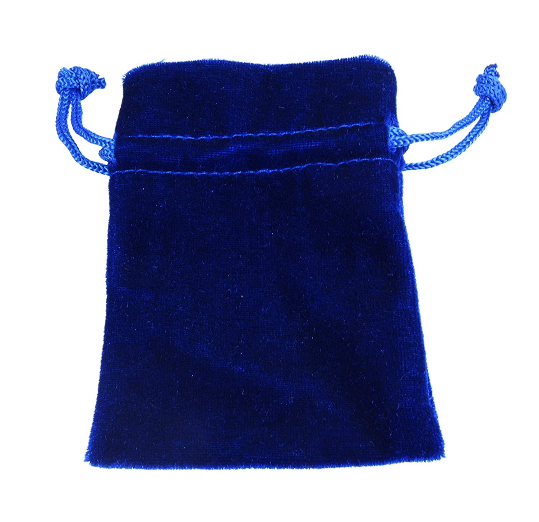 Samtbeutel Samt S/äckchen Schmuckbeutel blau