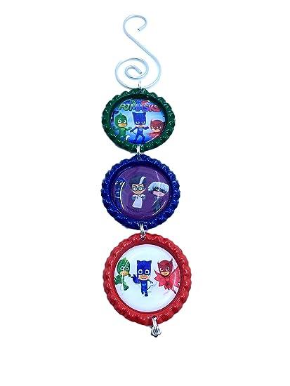 PJ Mask Themed Christmas Holiday Tree Ornament Gift