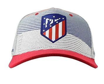 Atlético de Madrid Gorra Adulto Gris, Azul Marino y Rojo Producto Oficial - Nuevo Escudo: Amazon.es: Deportes y aire libre
