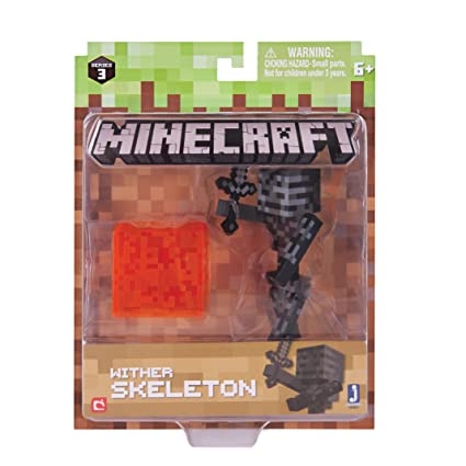 Amazon Com Minecraft Series 3 Action Figure 3 Inch Wither