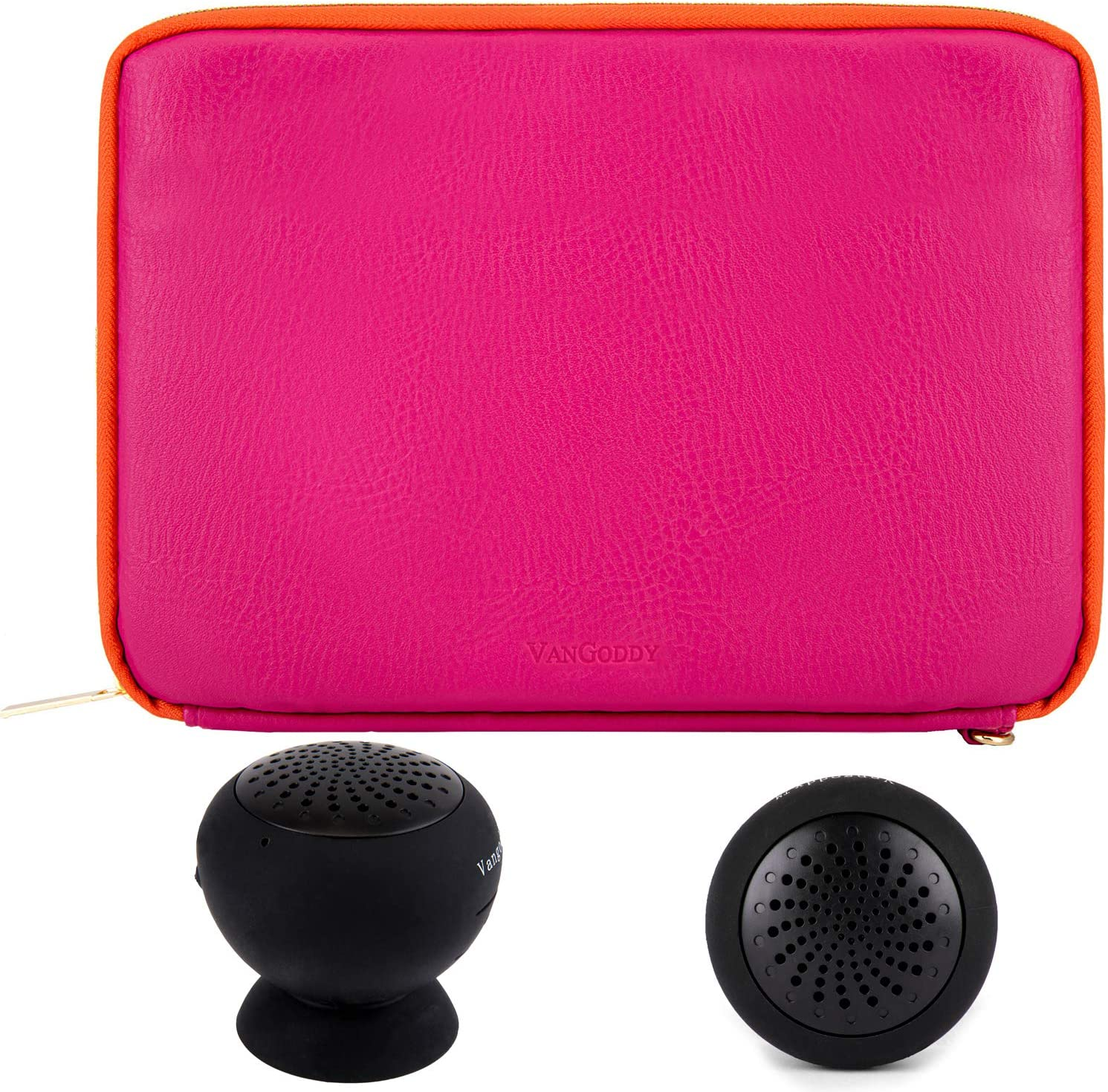 Amazon.com: VanGoddy Wireless Speaker and Magenta Orange ...
