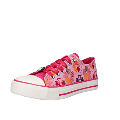 bbb322834ea BETTY BOOP Girl Fashion Sneakers 4 UK   37 EU Kids Multicolored Canvas AF711