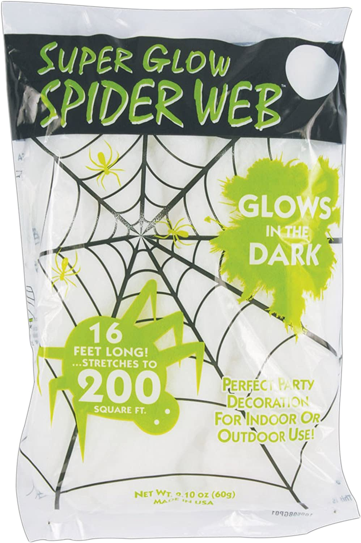 Fun World Unisex-Adult's Spider Web, Multi, Standard