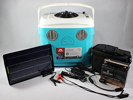 Amazon com: Solar - Battery & 110V/12V operated Portable Air