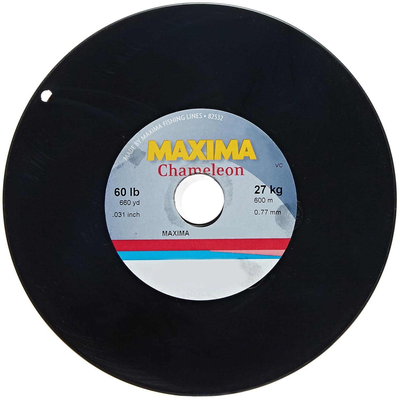 Maxima fishing line maxi spools chameleon 60 pound 660 for Maxima fishing line