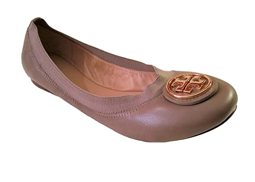Tory Burch Caroline Ballet Nellie Nappa Leather 7