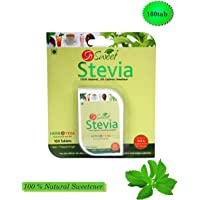So Sweet Stevia 100 Stevia Tablets 100% Natural Sweetener - Sugarfree