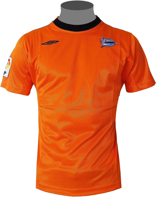 Deportivo alavés Umbro camiseta de España La liga a casa para niños & visitante Naranja naranja Talla:152: Amazon.es: Deportes y aire libre