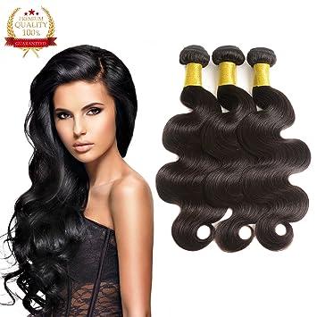 Amazon hlsk brazilian virgin hair bundles body wave hlsk brazilian virgin hair bundles body wave unprocessed remy virgin human hair weave hair extensions pmusecretfo Gallery
