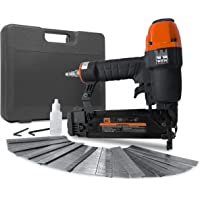 WEN 61723K 18-Gauge 3/8-Inch to 2-Inch Brad Nailer with Carrying Case and 2000 Nails