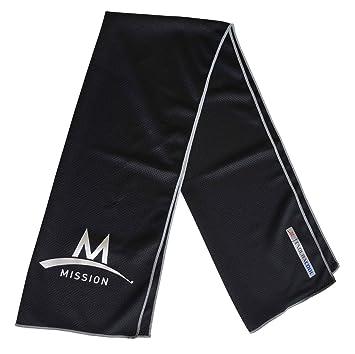 MISSION Kühltuch Sporthandtuch Multifunktionstuch Fittnesstuch
