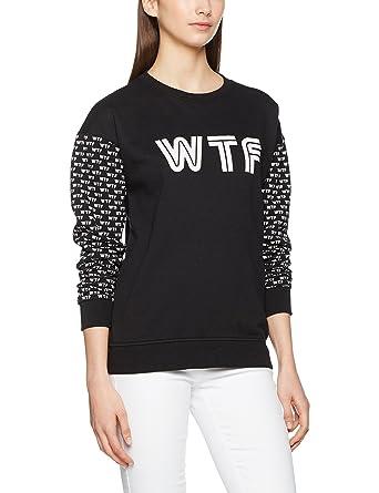 Vans Damen Sweatshirt Carefree Crew, Mehrfarbig (WTF M9O), Large ...