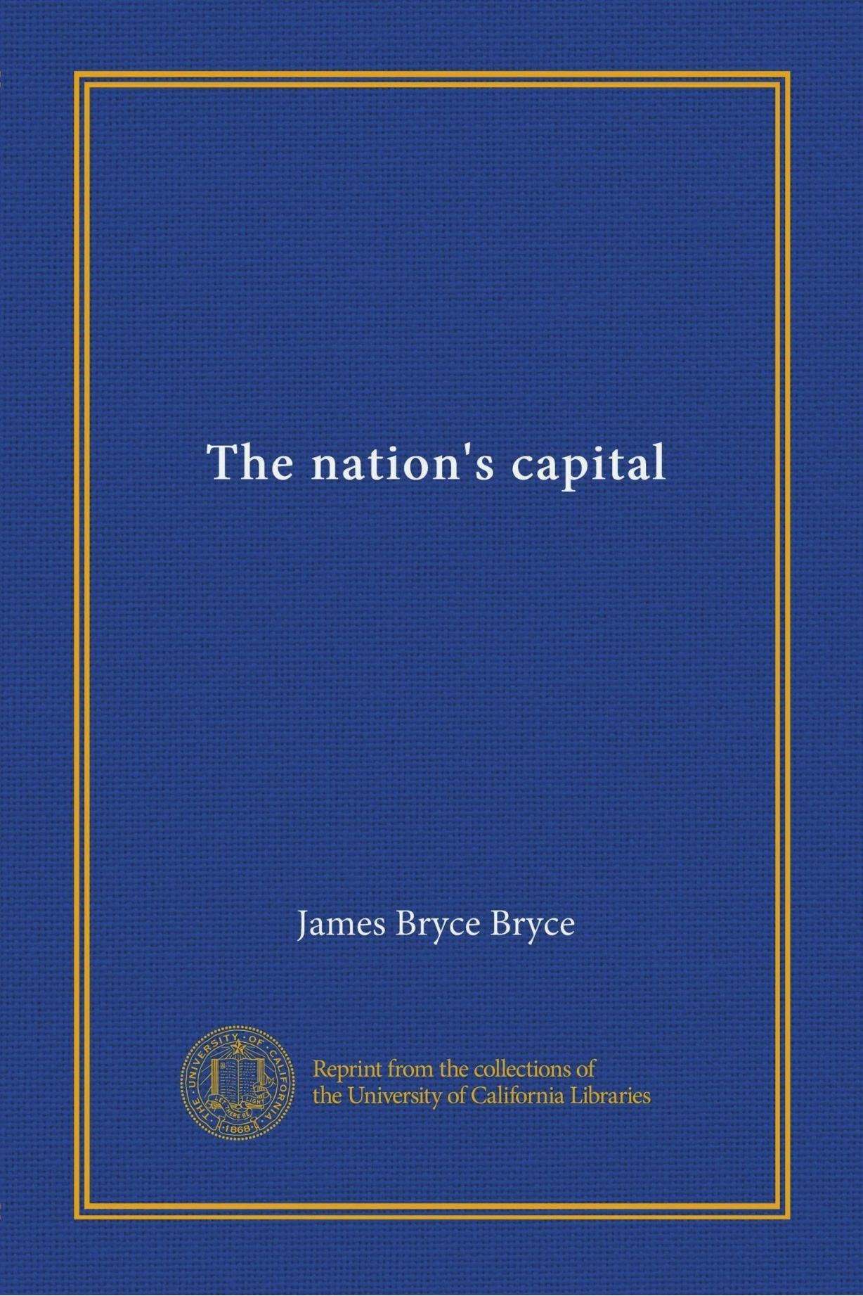 The nation's capital pdf