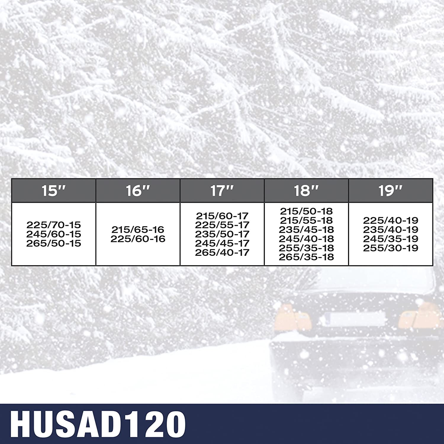 O Cadenas De Nieve Husky Advance 9 mm Normal Kn110 SUMEX Husa110