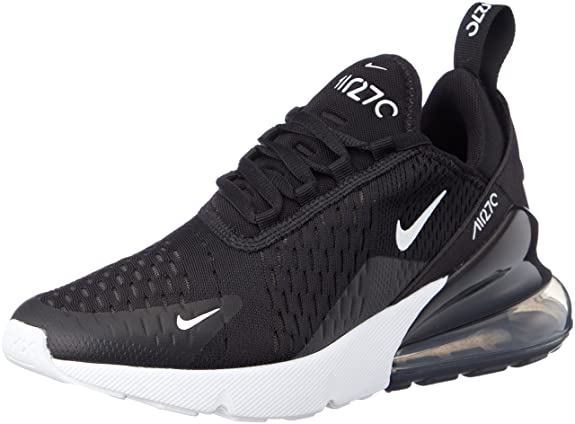 low cost ae6a5 17c91 Amazon.com   Nike Women s WMNS Air Max 270, Black Anthracite-White, 8 M US    Fashion Sneakers