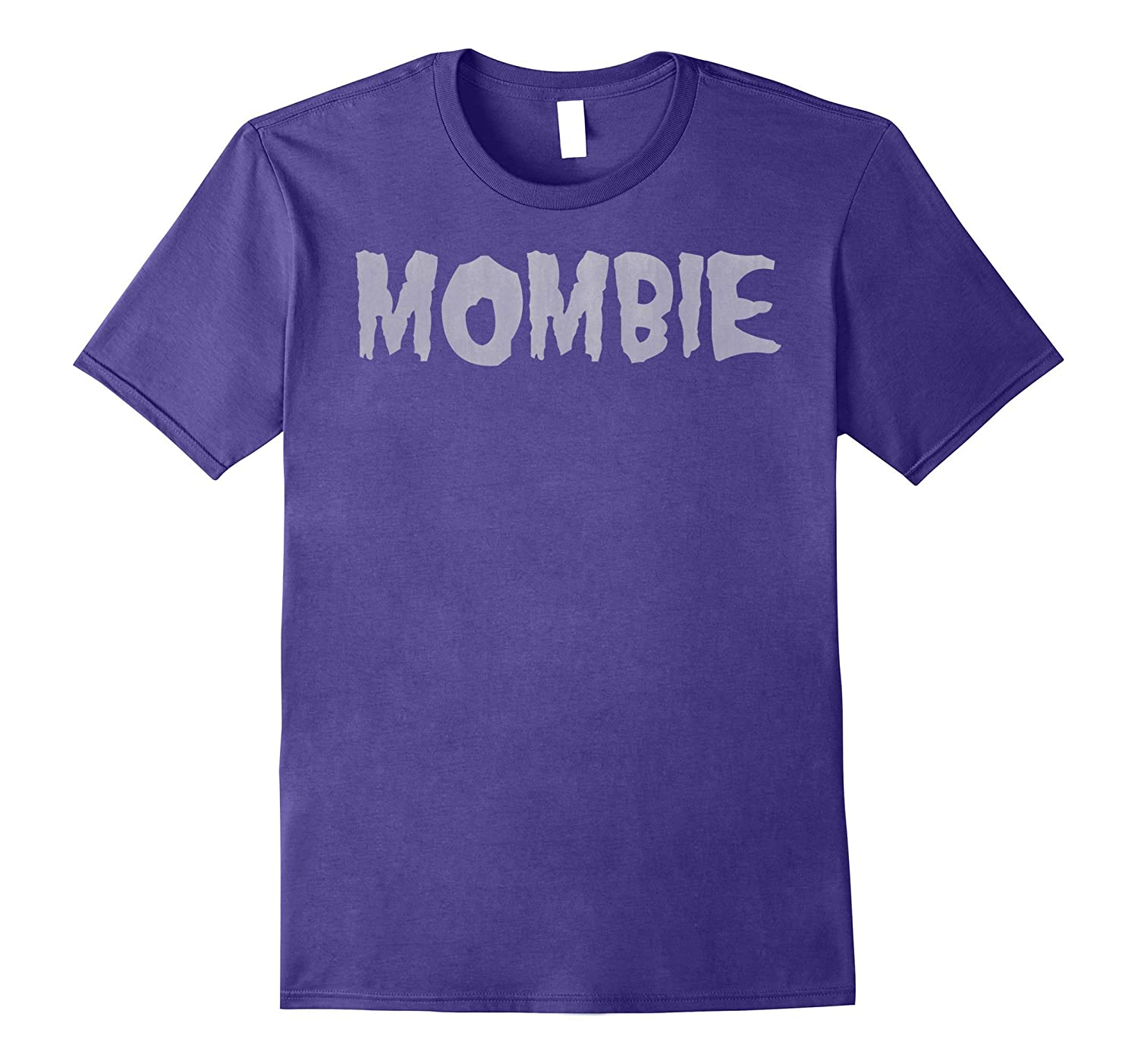 Halloween Mombie Zombie Spooky Mom Graphic T-Shirt-T-Shirt