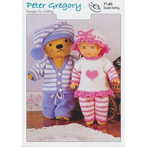 Double Knitting Dolls Patterns Amazon