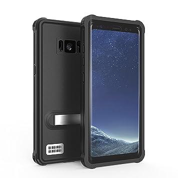 Carcasa Compatible con Samsung Galaxy S8, SPARIN Funda impermeable con sensible pantalla táctil y acceso completo a todas las funciones para Samsung ...