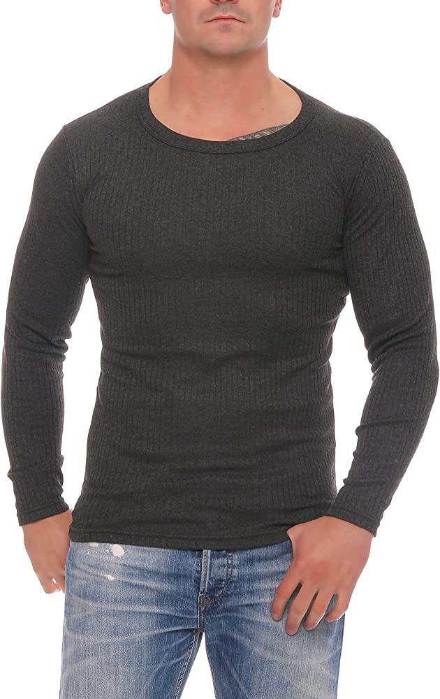 Juego de ropa interior térmica para hombre de Cocain, camisa / pantalón o 2 unidades de camisetas