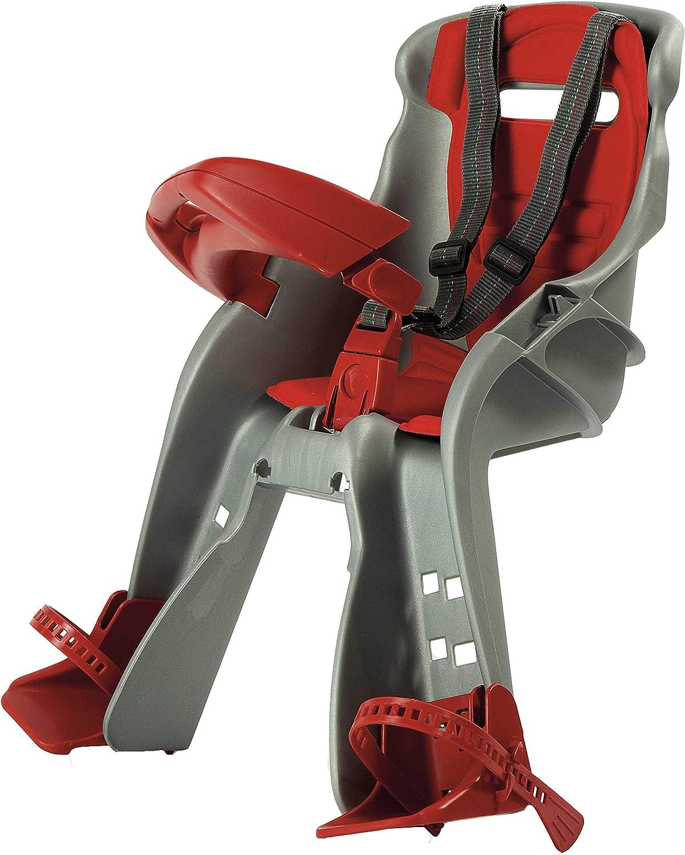 Seggiolino anteriore per bicicletta con braccioli Opfury pieghevole e ultraleggero sicurezza per bambini