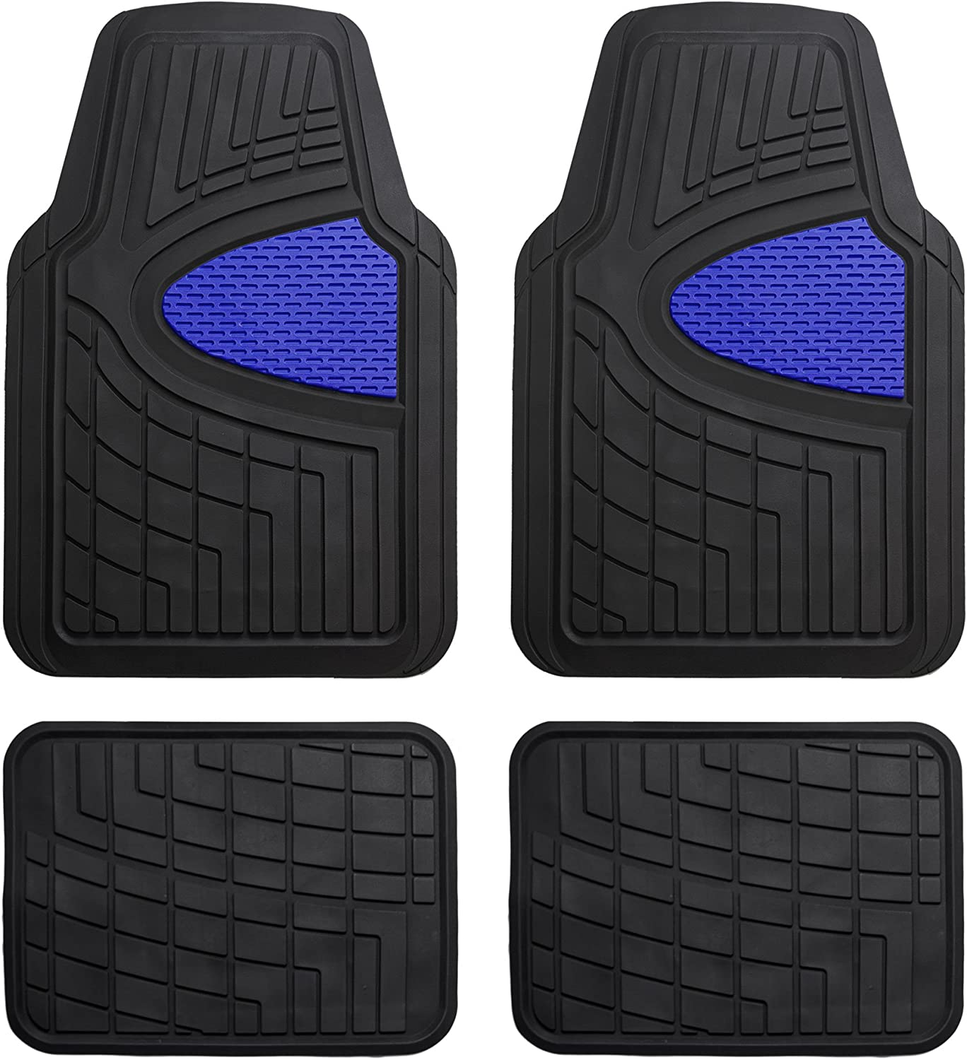 FH Selling and selling Group New arrival Blue F11311BLUE Rubber Floor Heavy Mat Channe Tall Duty