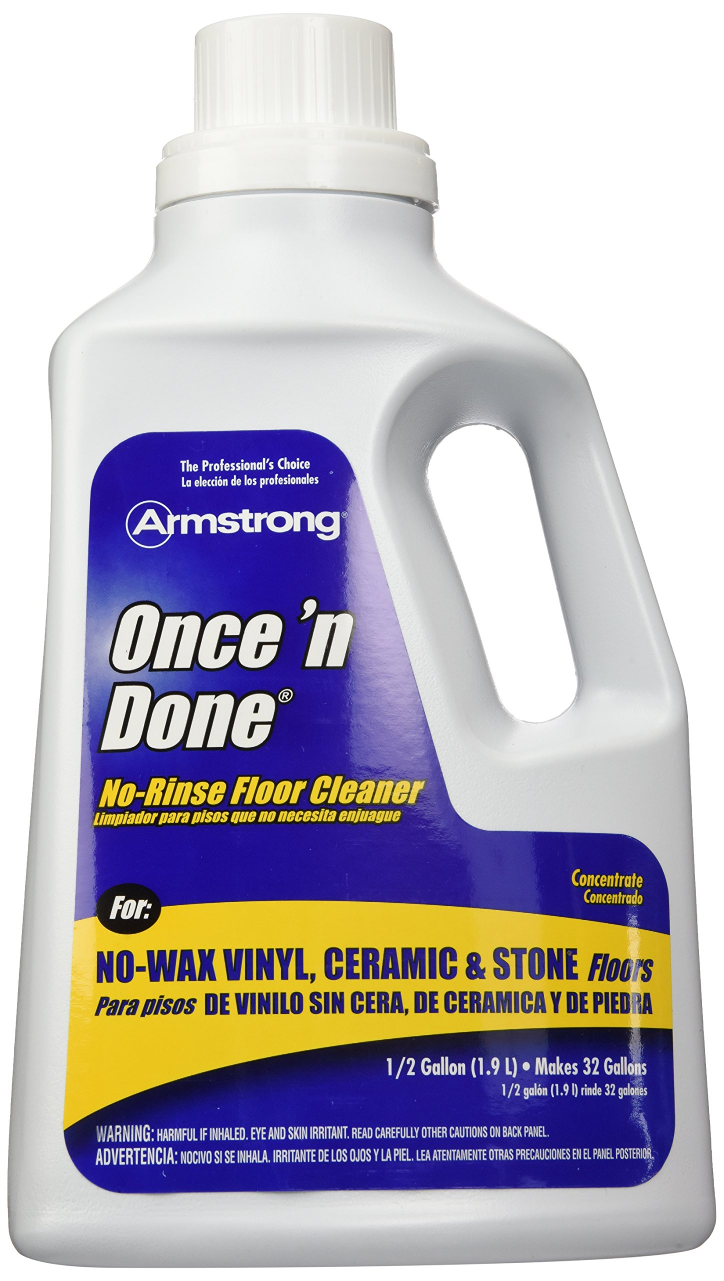 Armstrong 330806 Armstrong Once 'N Done Cleaner Concentrate, 1/2 Gallon(64OZ)