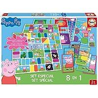 Peppa Pig- Set 8 En 1, Multicolor, única