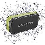 Altoparlanti Wireless Bluetooth,Darkiron K6 Altoparlanti IPX6 Wireless impermeabili,Banca di alimentazione portatile con microfono incorporato/Slot schede SD/ingresso Aux A 3.5mm