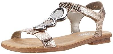rieker sandalen damen gold
