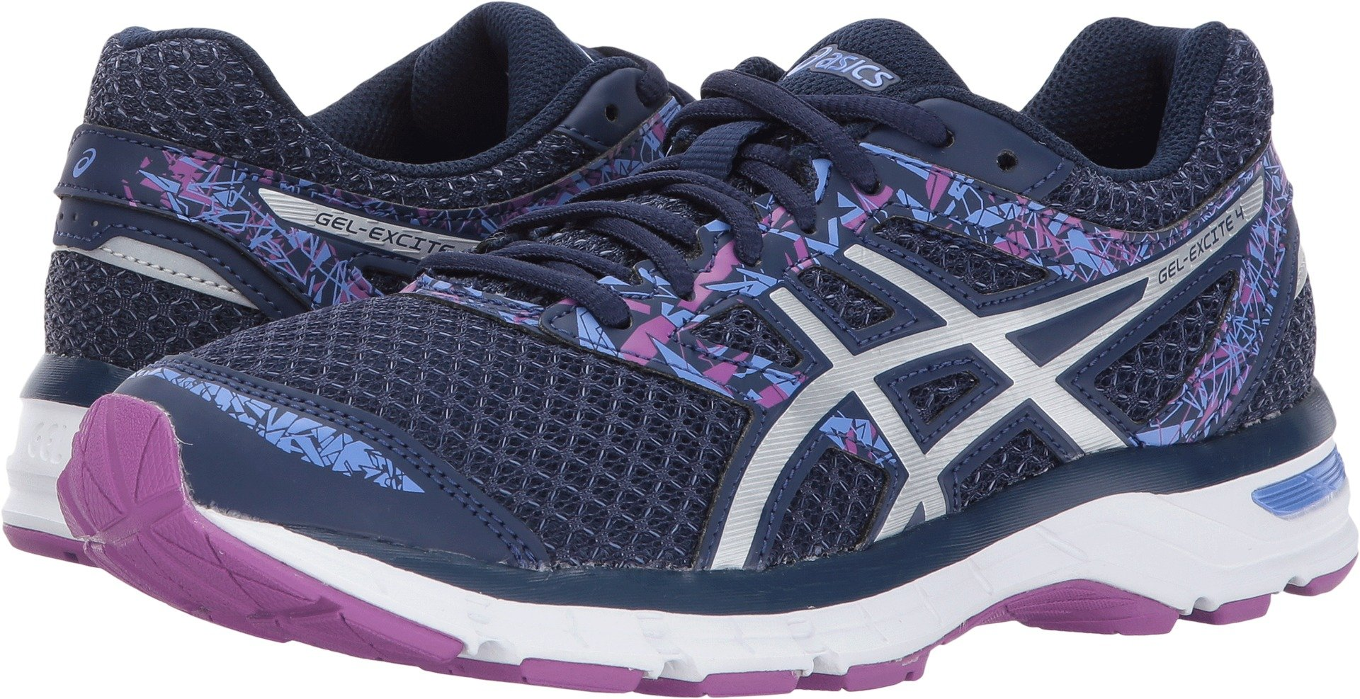 ASICS Women's Gel-Excite 4 Indigo Blue/Blue/Orchid Athletic Shoe 8 M US