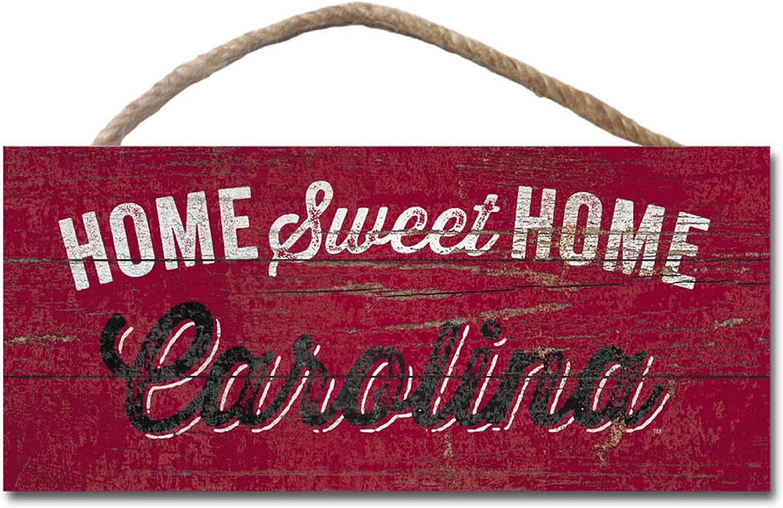 NCAA Fan Shop South Carolina Fighting Gamecocks Legacy Wood Plank Hanging Sign 10x5 One Size Wood