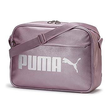 2f83819dd Puma Campus Reporter PU Bolsa Deporte, Unisex Adulto, Elderberry  Silver/Metallic, OSFA: Amazon.es: Deportes y aire libre