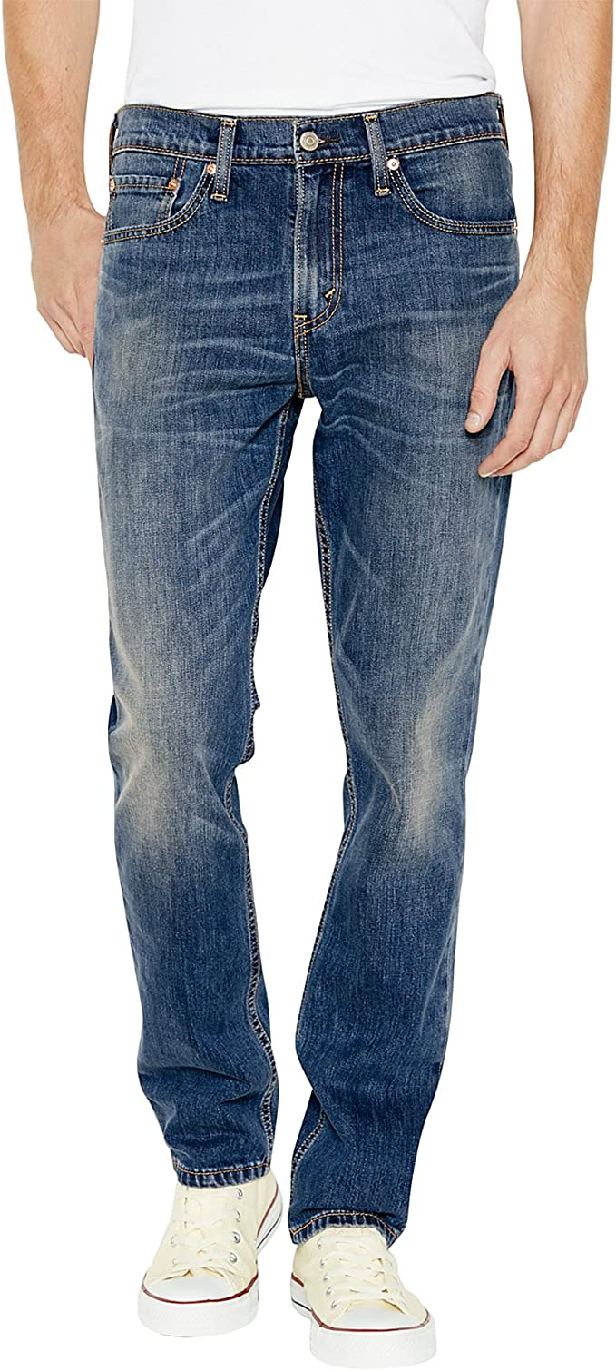Levi/'s Men/'s 511 Slim Fit Stretch Jeans Medium Blue