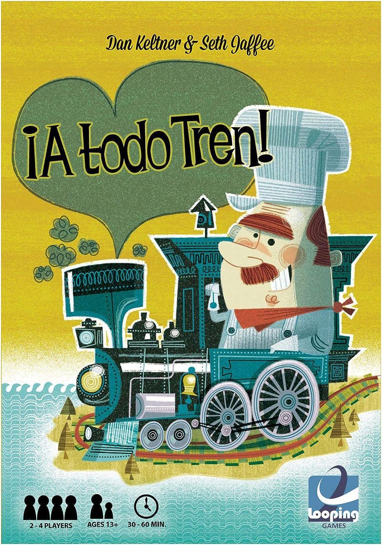 Looping Games - Juego ¡A Todo Tren!, Multicolor , color/modelo surtido: Amazon.es: Juguetes y juegos