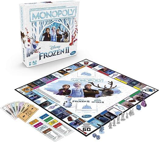 Hasbro Disney Frozen II Monopoly (Bilingual - English/French): Amazon.es: Juguetes y juegos