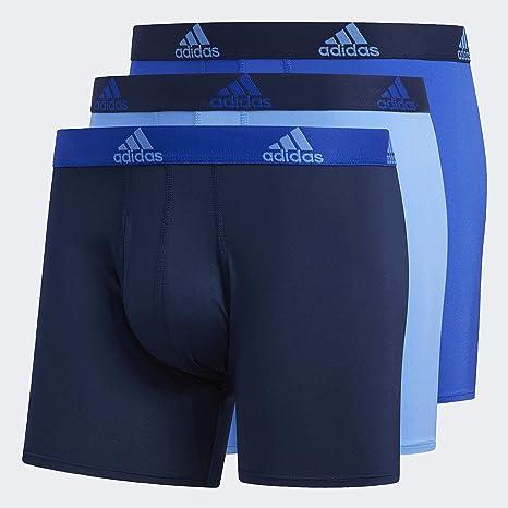 adidas Climalite Boxer Briefs Underwear (3-Pack) - Ropa Interior ...
