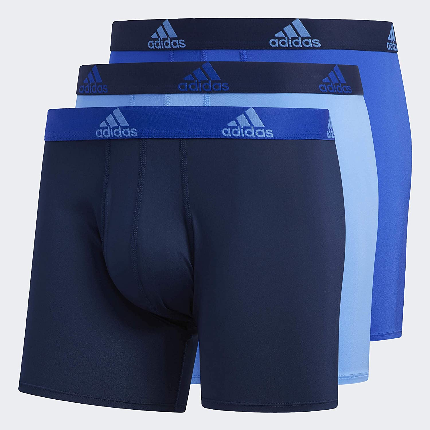 adidas Men's Performance Boxer Brief Underwear (3-Pack)