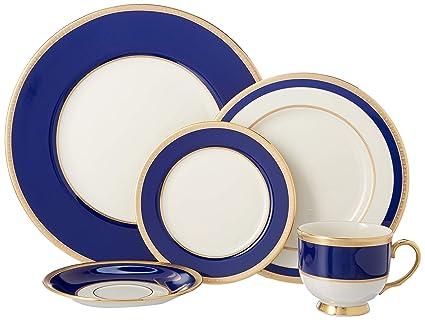 Amazoncom Lenox Independence 5 Piece Dinnerware Set Dinnerware