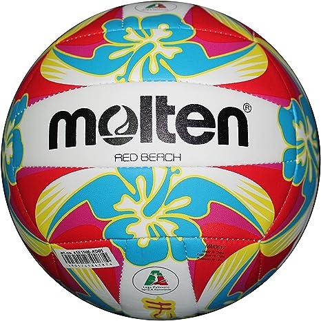 MOLTEN Balón Beach Volley Red Beach: Amazon.es: Deportes y aire libre