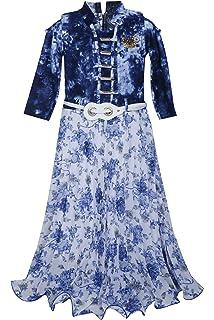 58164f4040ae BENKILS Cute Fashion Baby Girl s Tapeta Silk Party Wear Frock Dress ...