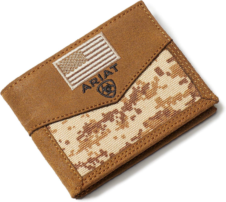 Ariat Men's Patriot Bifold Wallet