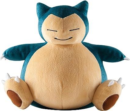 Pokemon 8/'/' Snorlax Tomy Plush
