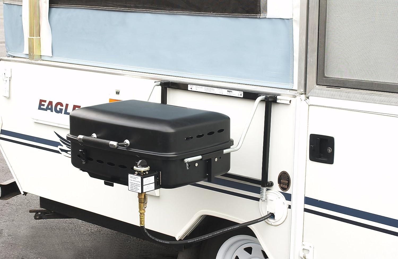 Outdoors Unlimited RVAD400 Black Finish Sidekick Grill