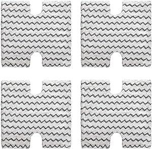 Adouiry Replace Shark Steam Cleaner Mop Pads for Shark Lift Away Genius Steam Pocket Mop S3973D S6002 S5003D S6001 S6003 S5001 S5002 S3973WM for Shark Steam Mopping Pads(4 Pack)
