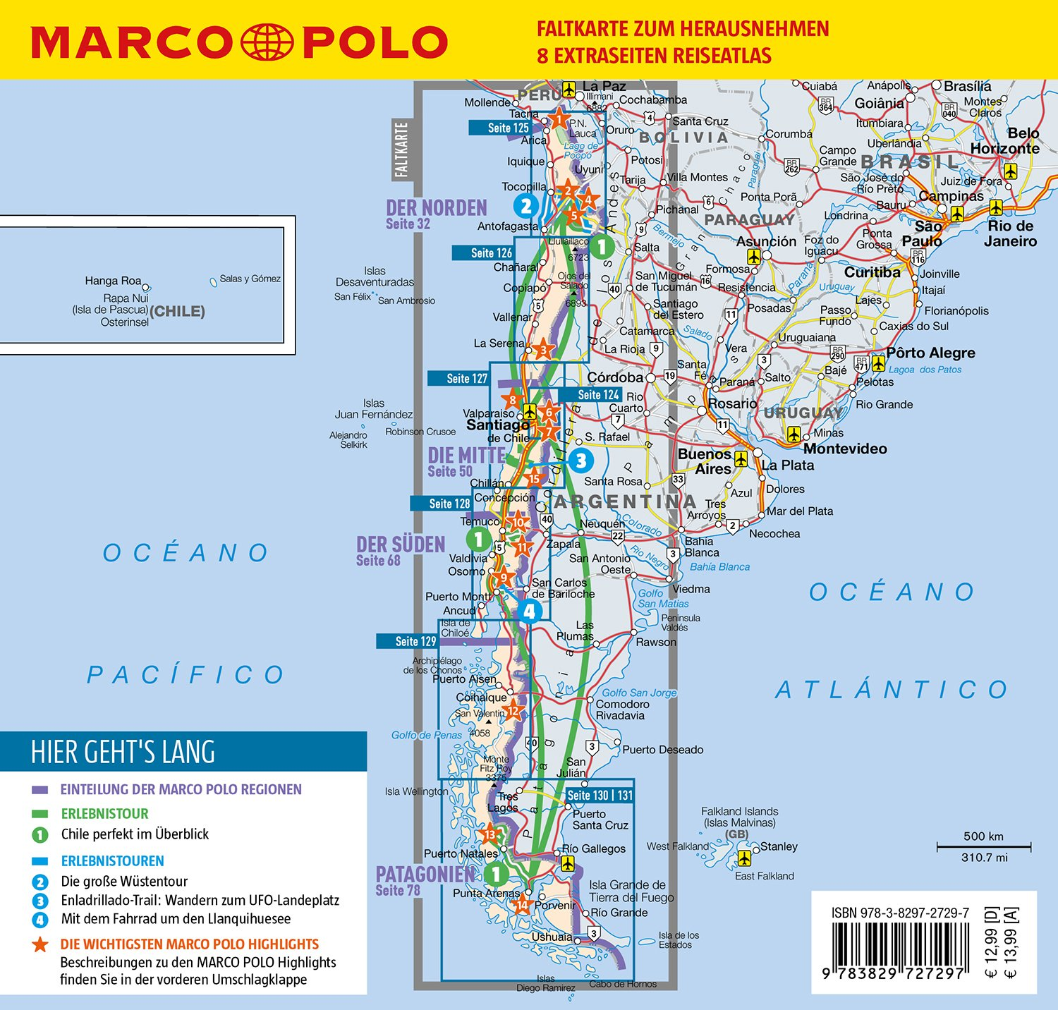 MARCO POLO Reiseführer Chile, Osterinsel: 9783829727297: Amazon.com: Books