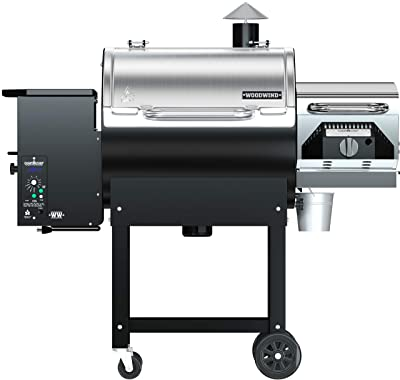 Camp Chef Woodwind Classic 24 Pellet Grill with Sear Box - Smart Smoke Technology - Ash Cleanout System