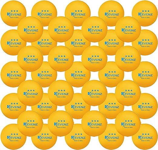 KEVENZ 3 Star Ping Pong Balls - Runner Up