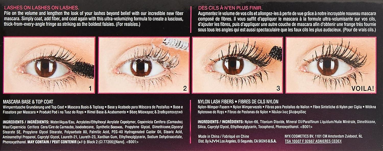 80baf2a1657 Amazon.com : NYX Professional Makeup Double Stacked Mascara : Beauty