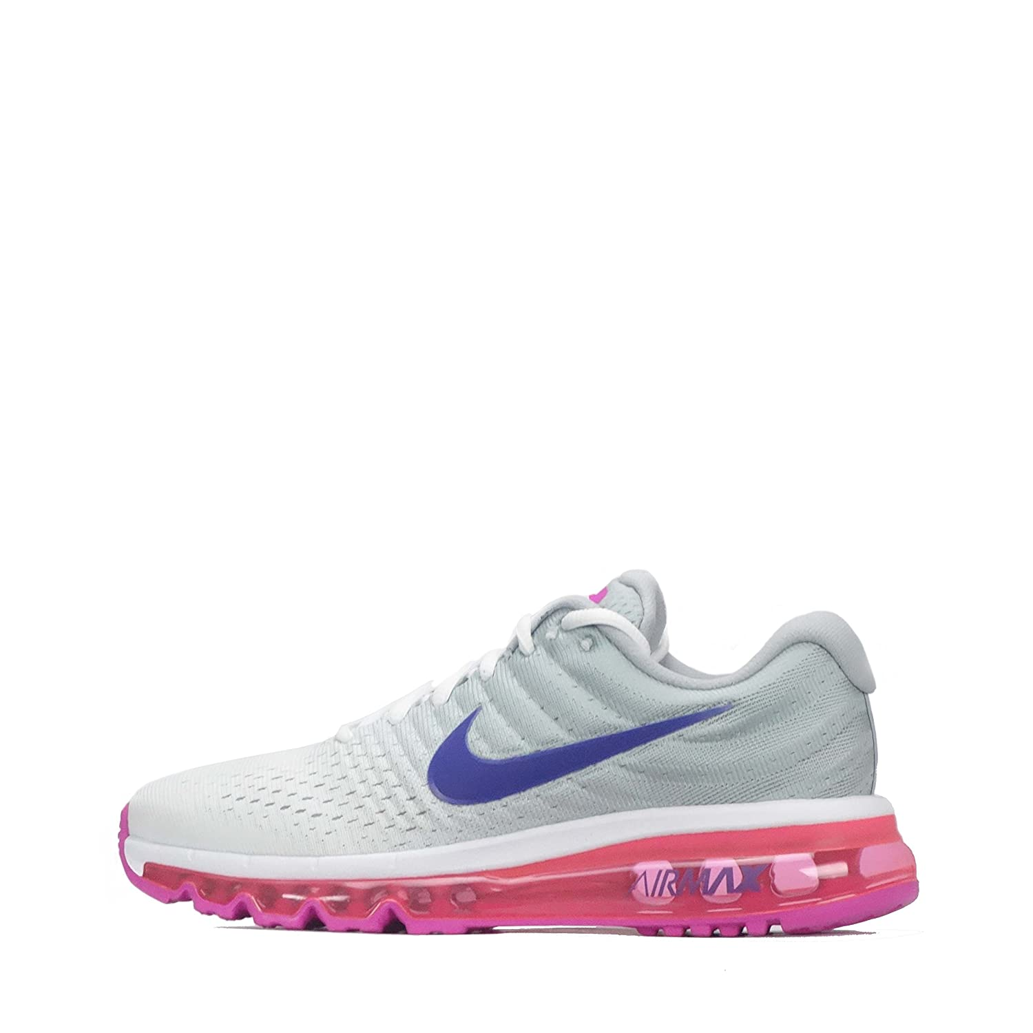 hot sale online ba15b d38f1 Amazon.com   Nike Air Max 2017 Women s Running Sneaker (5.5 B(M) US)   Road  Running