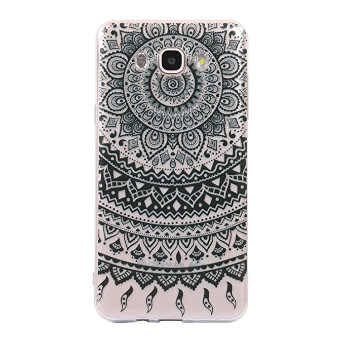 BONROY Coque Pour Samsung Galaxy J7 2016, Coque Pour Samsung Galaxy J7 2016 Case Cover, Housse Etui Protection Silicone Souple Pour Samsung Galaxy J7 (2016) SM-J710, Coloré Mode Créatif Motif Ultra-Mince TPU Sil